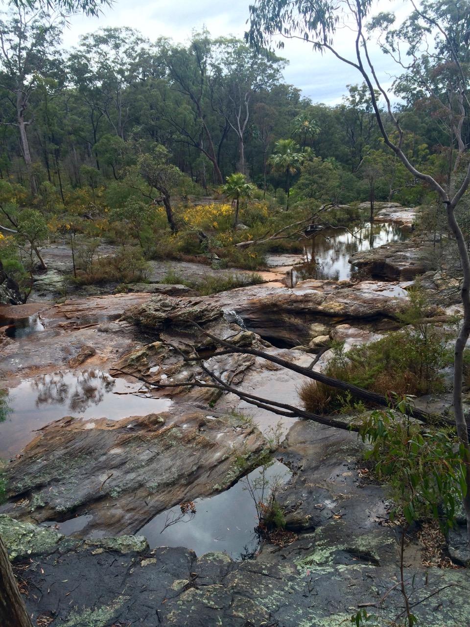 Two Mile Creek, Blackdown Tableland