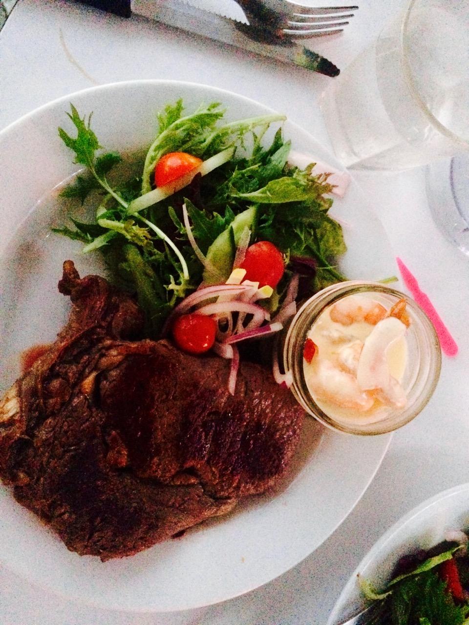 A famous Rocky steak!