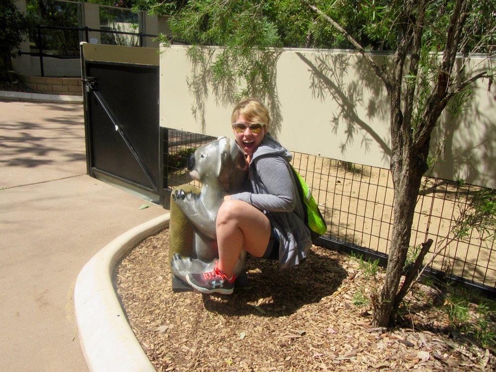 Patricia and the Koala seat