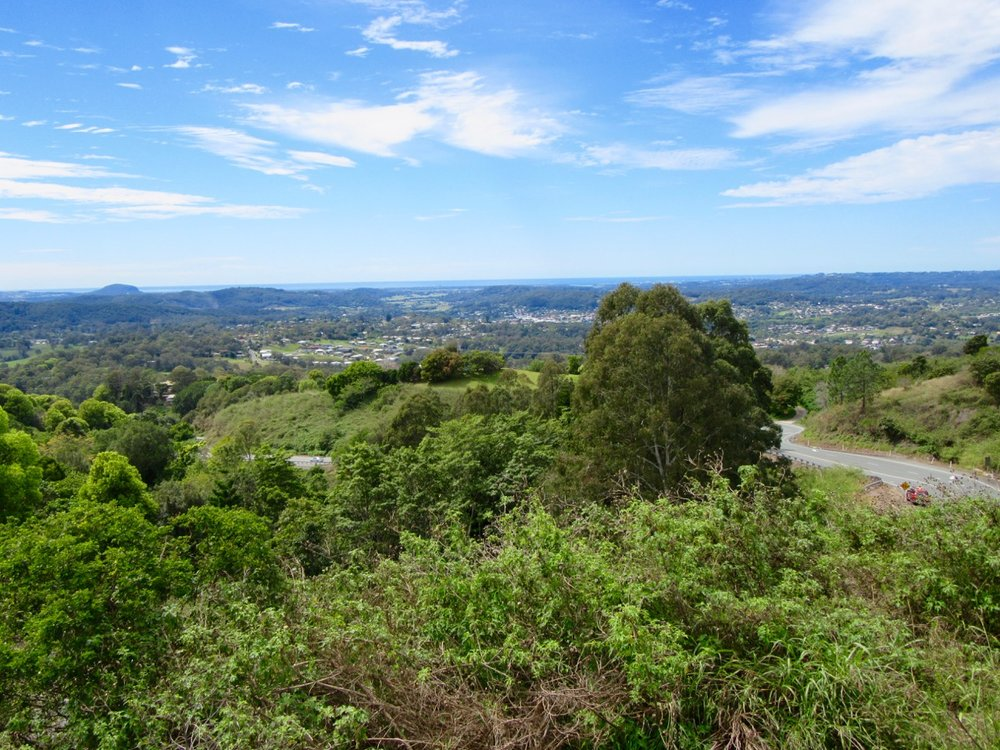 A view from the Monteville lookout.