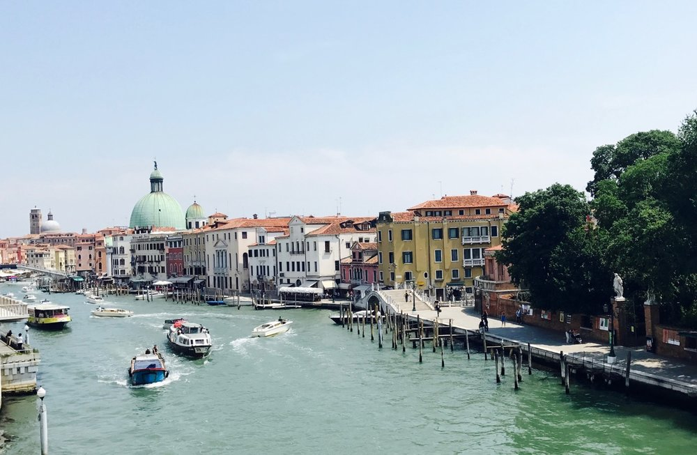 The Grand Canal, Venice 2017.