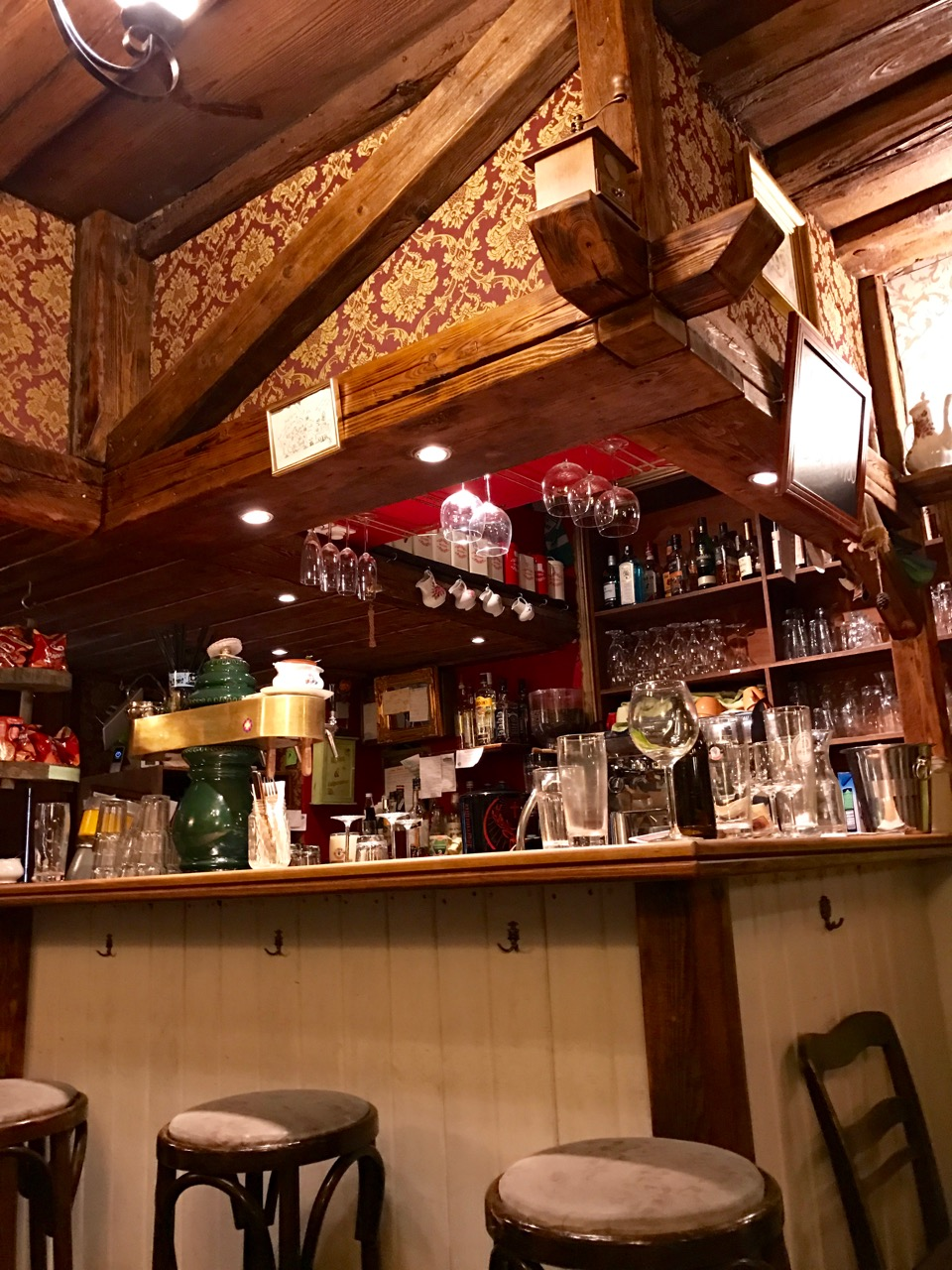 A charming bar in Furth, Germany.
