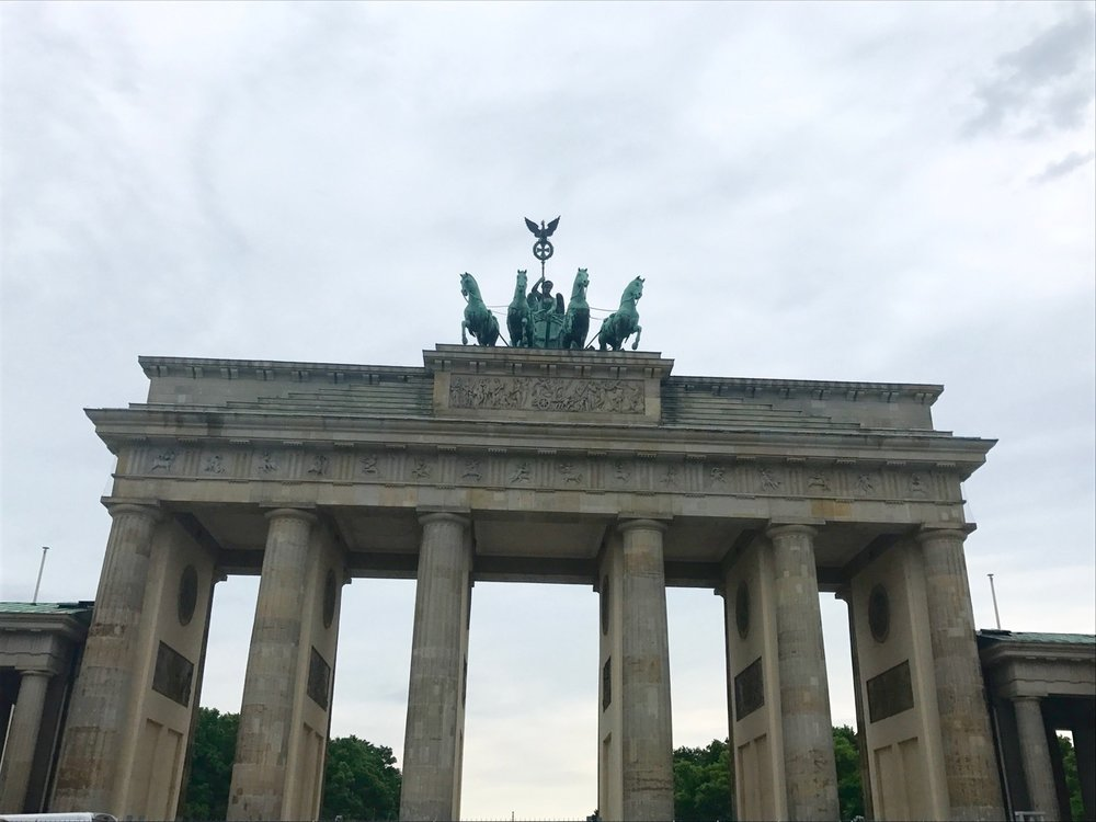 The Berlin Gate.