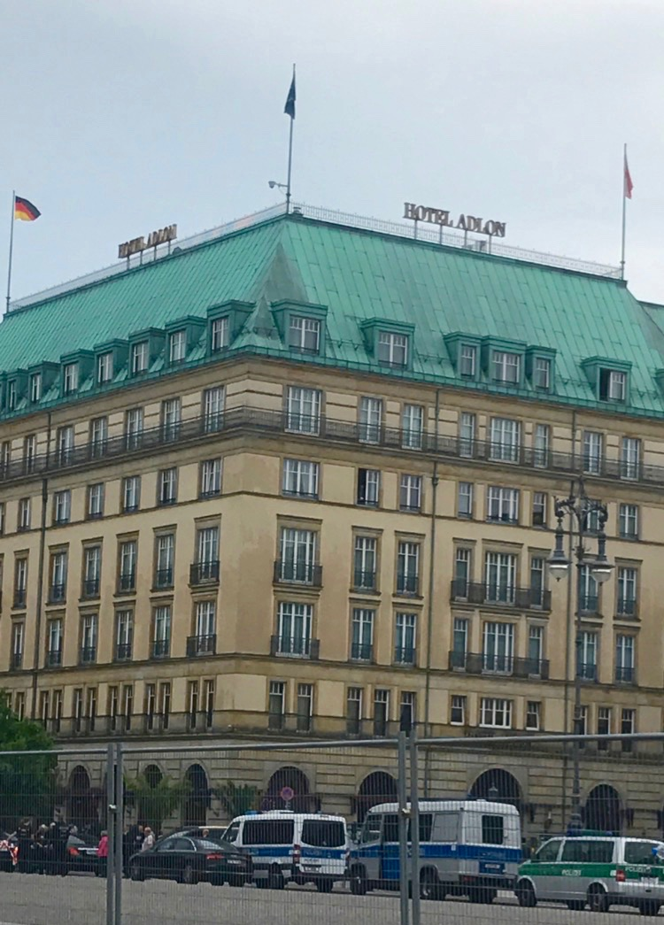 Hotel Adlon, Berlin.