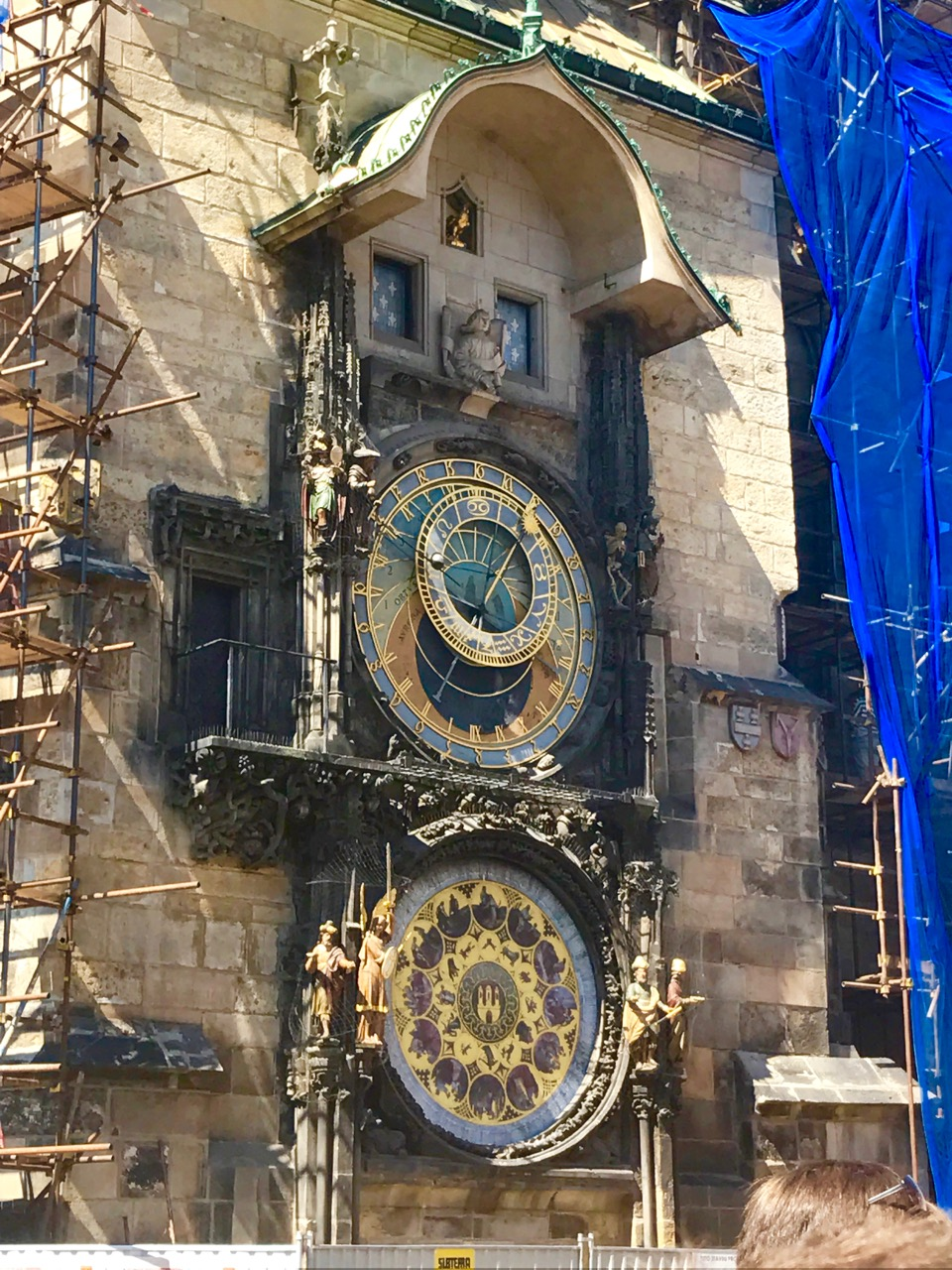 Unfortunately it was under construction, but it was still magnificent!