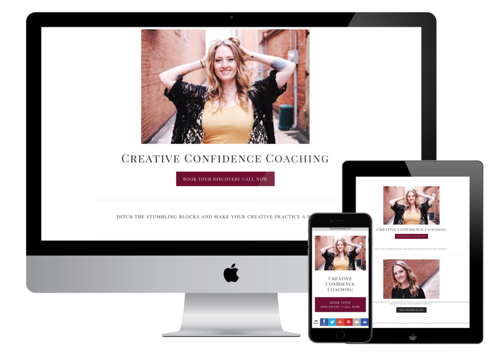 Creative Confidence Coaching