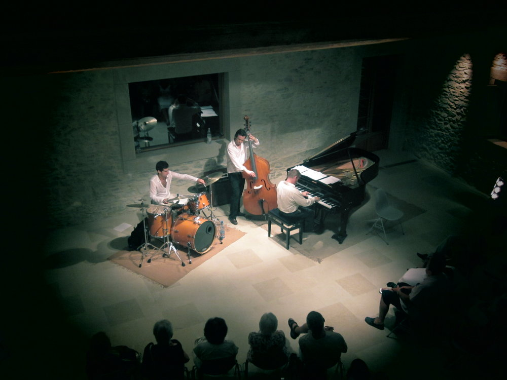 Ronnie Scott's Jazz trio - Chateau St. Jacques d'Albas 2011