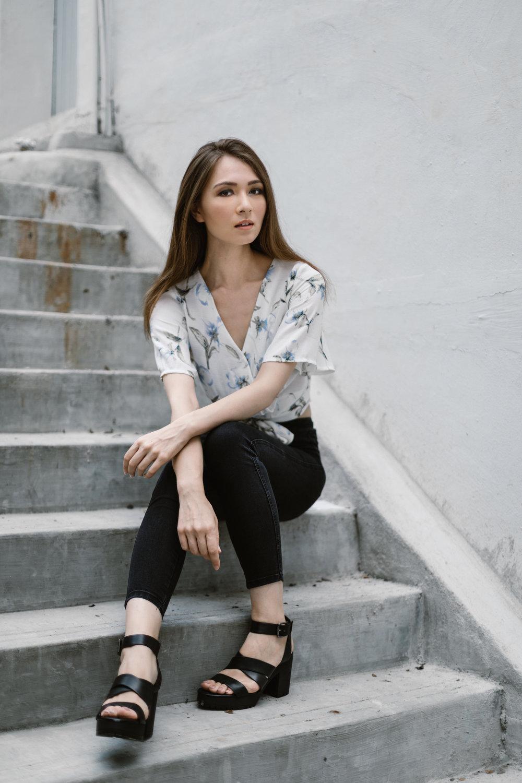 darren wong photography portrait kieko marsden looque models singapore
