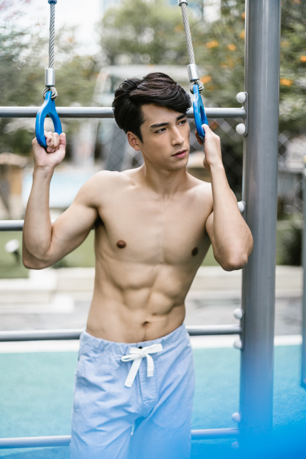 darren wong photography portrait model xavier upfront model ifitness magazine singapore