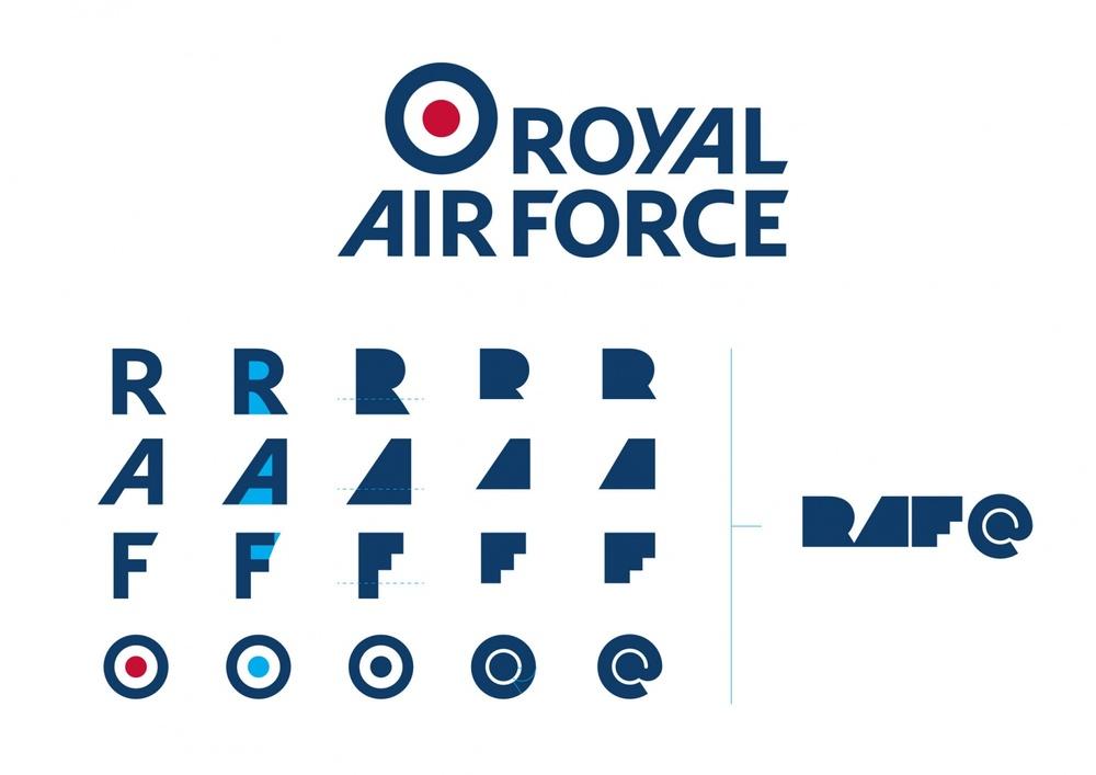 RAF100 Logo – Image credit: Design Week