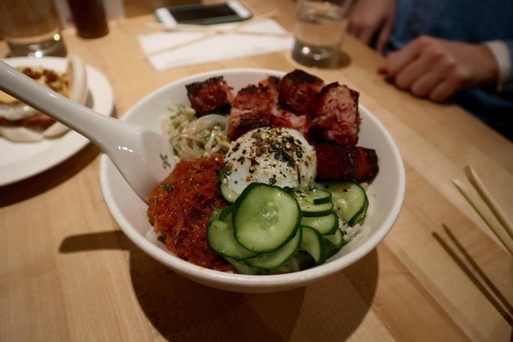 Spicy Pork & Kimchi Special - Momofuku Noodle Bar