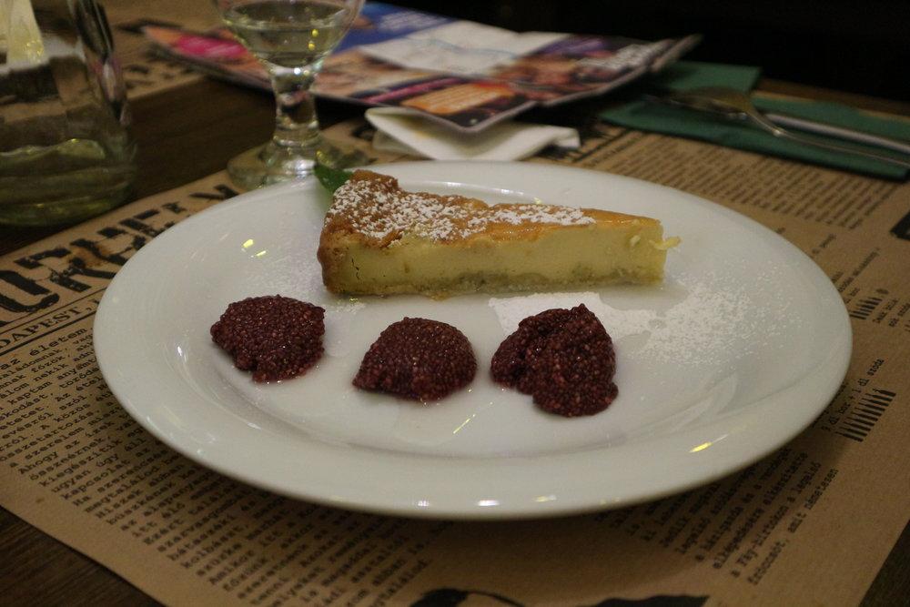 Korhely's Lemon Dessert