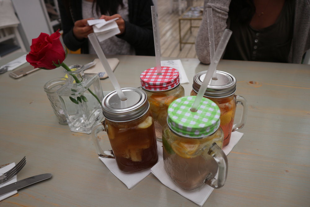 Vintage Cafe's Infused Ice Teas