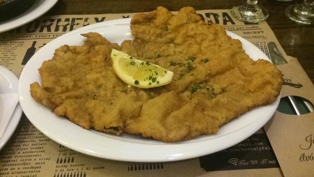 Korhely's Schnitzel