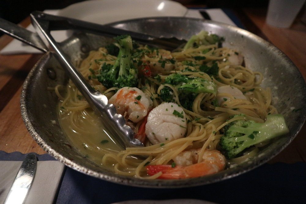 The Daily Catch: Seafood & Linguine