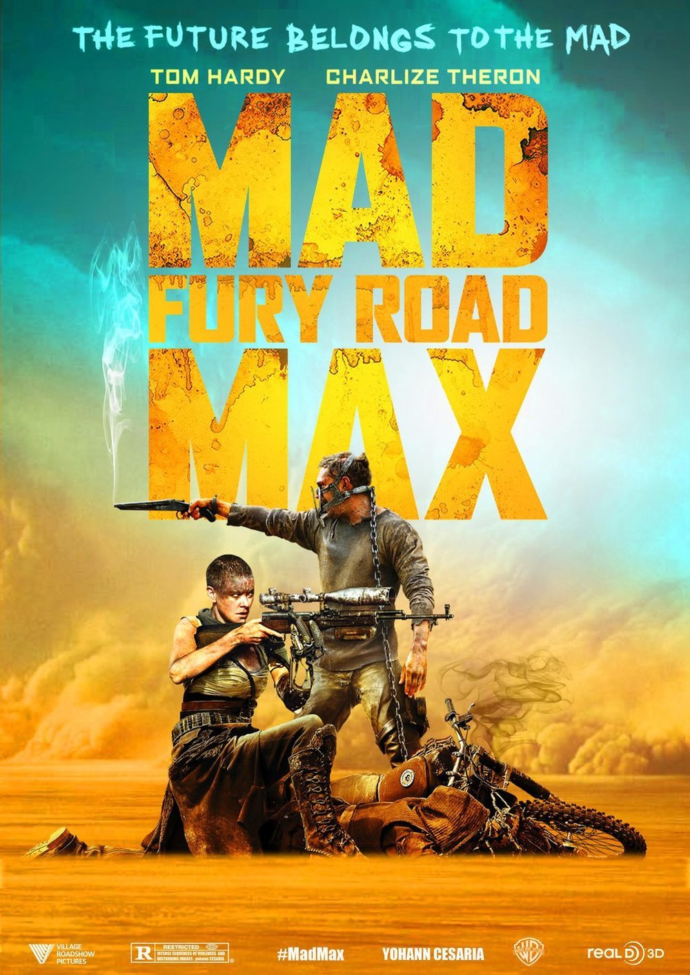 Mad Max: Fury Road - Release Date: 2015Rating: REmi Rating: 9.5/10Fury Road is like fine wine. The more time that passes, the more I enjoy the film. Set in a semi-post apocalyptic world where civilization has collapsed, Max Rockatansky aka Mad Max comes along side the most BA chick of the decade: Imperator Furiosa to help save the despot's 5 wives. In their rollercoaster of an escape you will fall in love with Charlize Theron and her portrayal of Furiosa. Moreover, you might be so hooked that you'll go and watch the original Mad Max films.