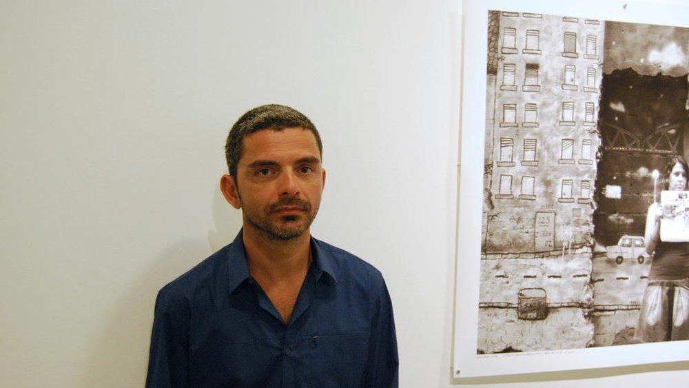 Jabel Al Azmeh  Image courtesy of Green Art Gallery Dubai