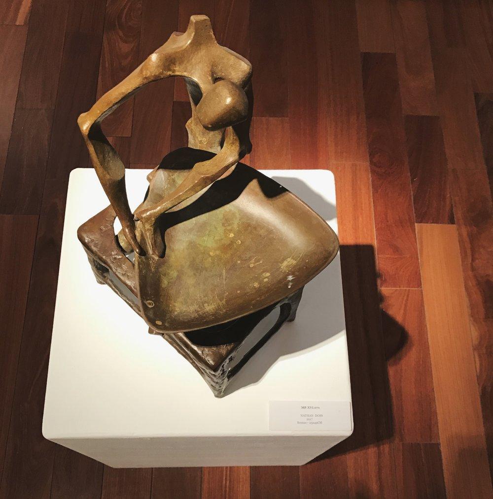 Nathan Doss  Bronze  23 x 43 cm  2016