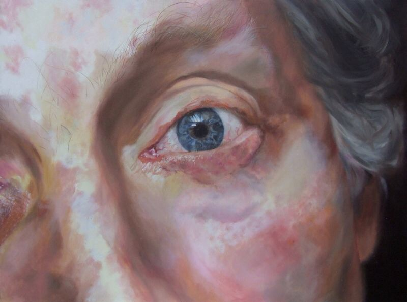 This was the first oil painting Connie did when she was just 17 years old, this painting was chosen for oil painter of the year exhibition at London's Trafalgar square's Mall Galleries.