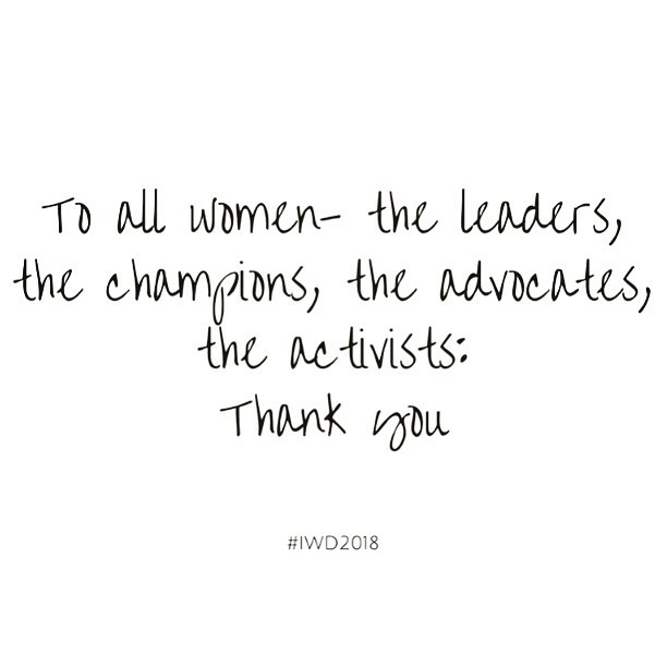 To all the world changing women - thank you, thank you, thank you! Happy International Women's Day! #iwd2018 #iwd #internationalwomensday #internationaleomensday2018 #womenentrepreneur #womenforwomen #changemakers #girlsrule #girlboss #socialjustice #socialjusticestartup