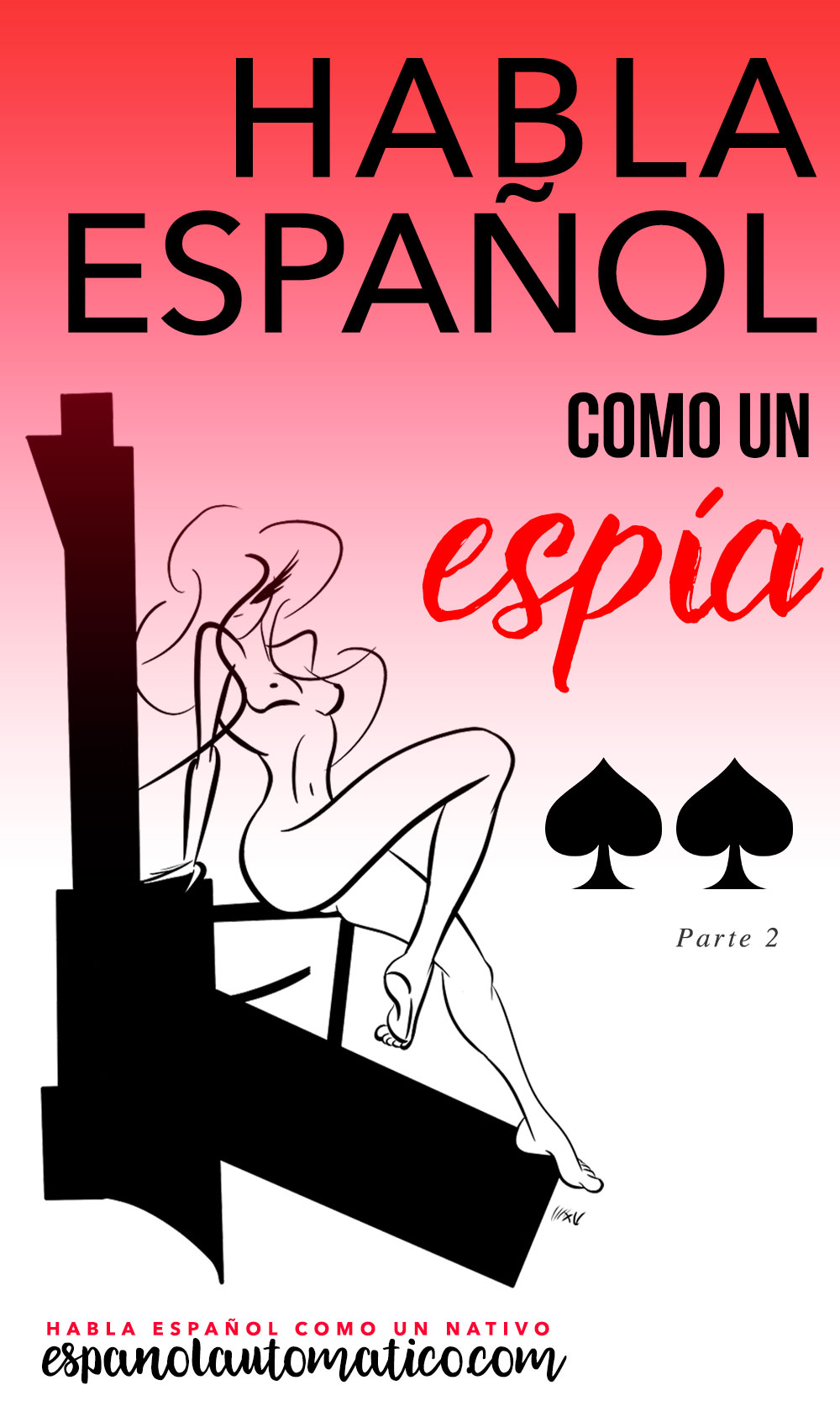 In todays episode of the podcast we will learn to speak Spanish like a spy: dangerously entertaining way to learn new Spanish vocabulary. Today we talk about Ian Fleming's most famous character: James Bond, the secret agent 007. But obviously this is just an excuse to dive into Spanish expressions, Spanish idioms and new Spanish vocabulary that you can use in your Spanish conversation with friends. And there is also a fun survey for you to participate! Repin this for later!