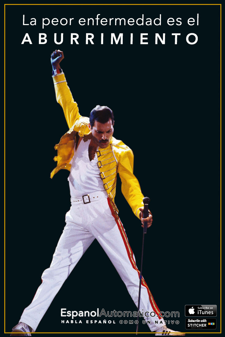 Aprender español: 25 años sin Freddie Mercury [Podcast 026] Learn Spanish in fun and easy way with our award-winning podcast: http://espanolautomatico.com/podcast/026REPIN for later