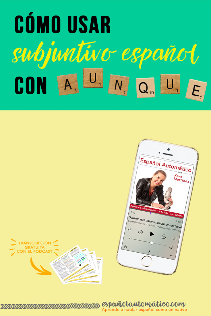"Spanish Subjunctive: How To Use the Spanish Subjunctive With ""Cuando"". Spanish subjunctive is always a trouble for students. Today I share a simple trick that will make you more confident when speaking Spanish and help you use Spanish subjunctive correctly in sentences with ""cuando"". Repin this post for later!"