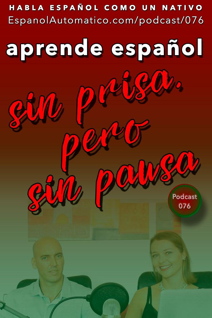 "(Español Avanzado) La sabiduría de la tortuga: ""Sin prisa pero sin pausa"" [Podcast 076] Learn Spanish in fun and easy way with our award-winning podcast: http://espanolautomatico.com/podcast/076 REPIN for later"
