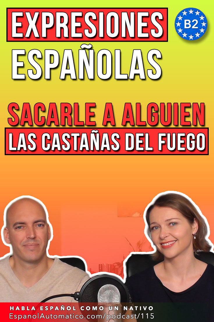 "(B2) ""Al mal tiempo buena cara"" y otras 50 expresiones españolas con el clima   [Podcast 115] Learn Spanish in fun and easy way with our award-winning podcast: http://espanolautomatico.com/podcast/115 REPIN for later #teachspanish #spanishteacher #speakspanish #spanishlessons #learnspanishforadults #learnspanishforadultsfree #learningspanish #learningspanishlanguage #spanishworksheets #vocabularyactivities"