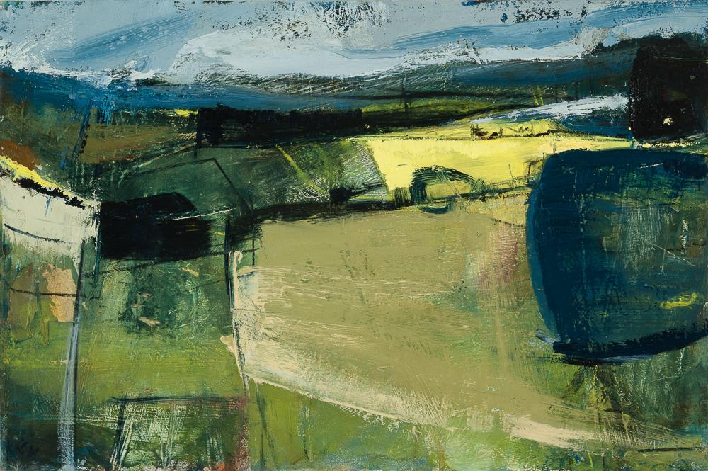 April Landscape, Chrurchstoke Oil on board 10x15%22.jpg