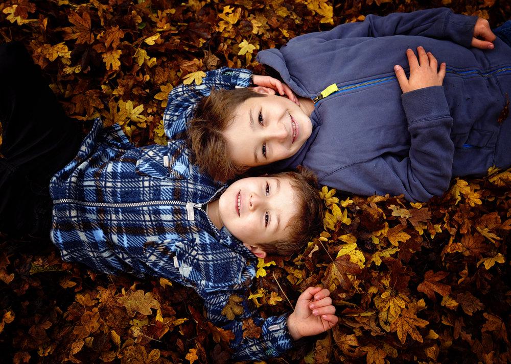 Autumn Family Photo Shoot Basingstoke Hampshire