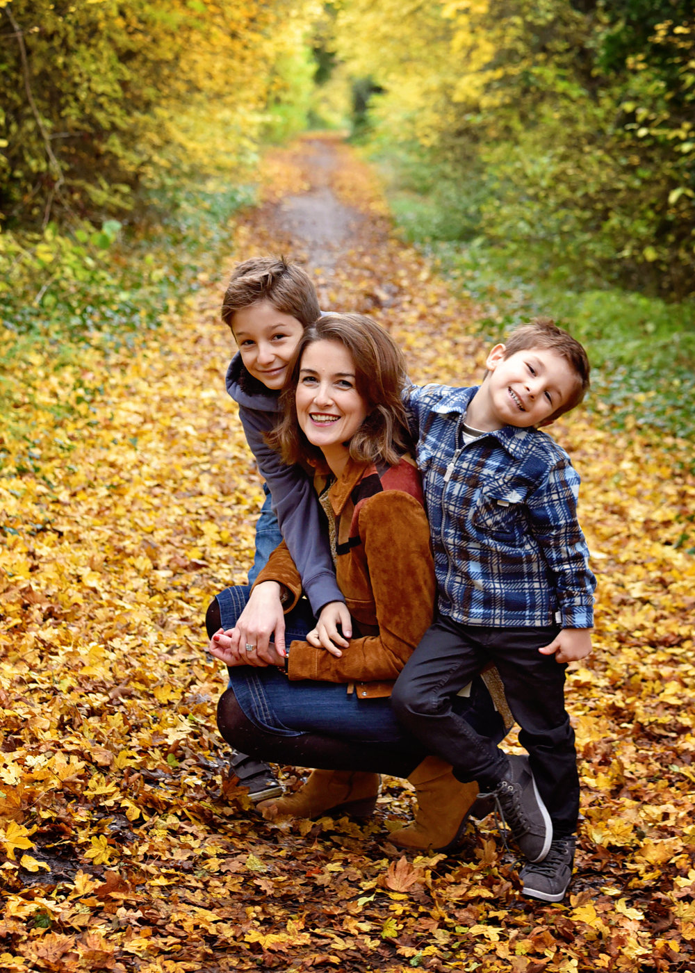 Autumn Days - A perfect Autumn day with a very special family!