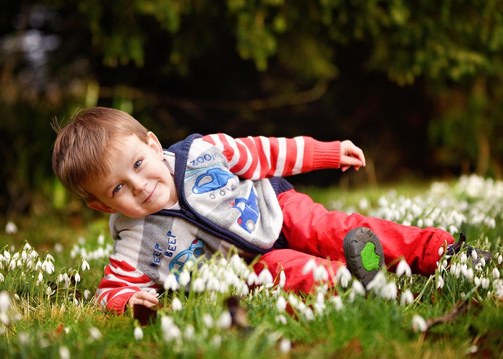 Children's Portraits Spring Basingstoke Hampshire
