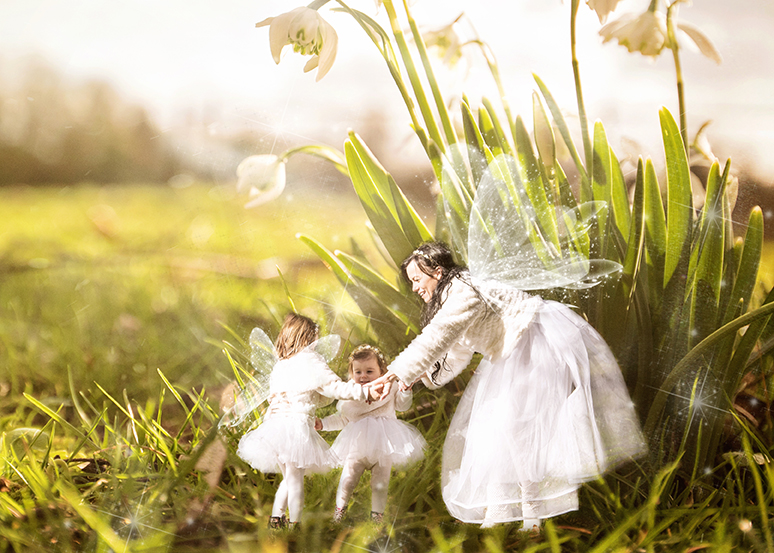 Dance of the Snowdrop Maidens - one from my series of Children & Nature