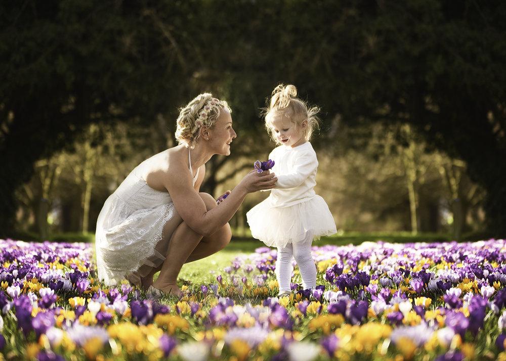 Spring Family Portrait Session Basingstoke Hampshire