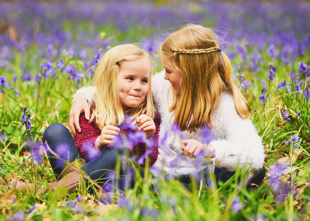 Spring Children's Family Portrait Photo Shoot Basingstoke Hampshire Berkshire