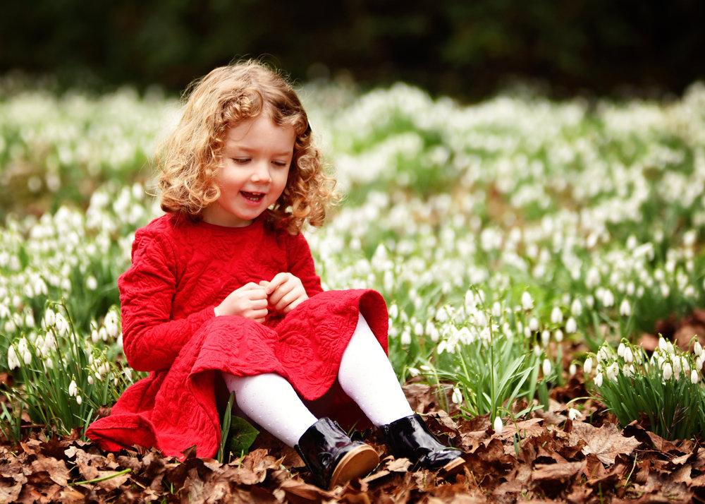 Spring Children's Family Photo Shoot Basingstoke Hampshire Berkshire