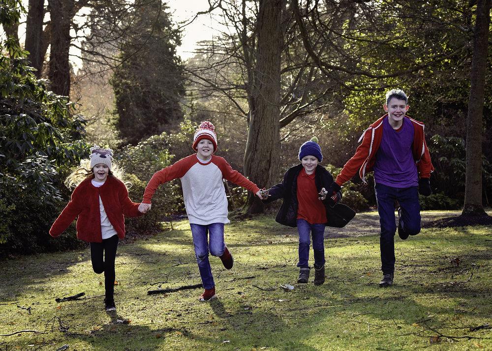 Winter Family Portraits Windsor