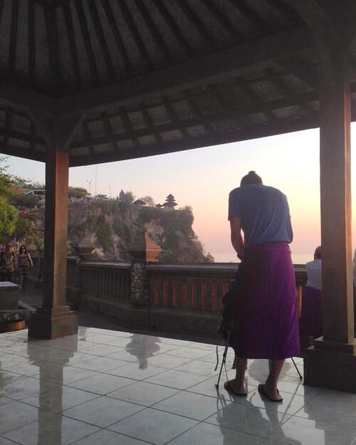 Sunset Uluwatu Temple   Indonesia