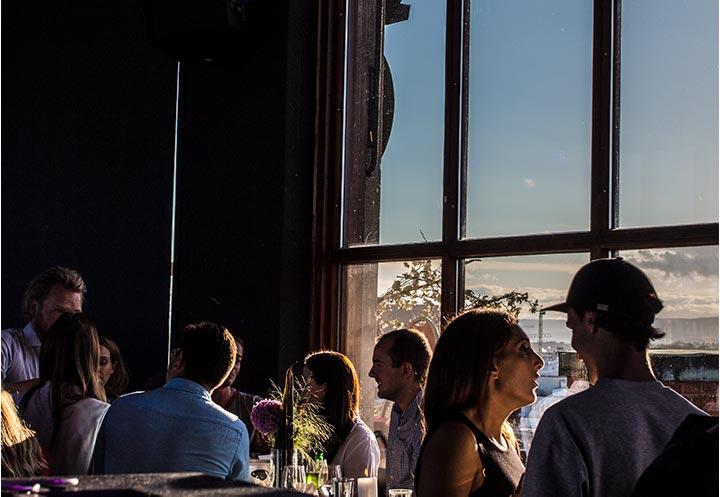 Oslo er kontinuerlig i endring, hvilket gjør utsikten fra Stratos dynamisk.