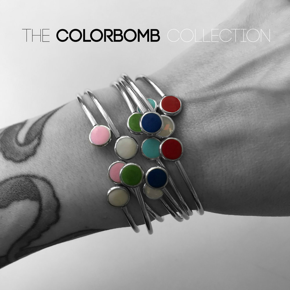 COLORBOMB  - every single piece is available in 24 colors