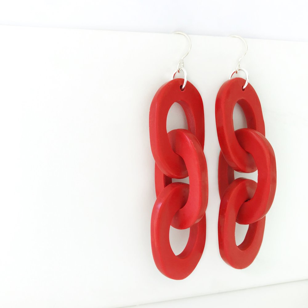 BIG CHAIN  earrings $18