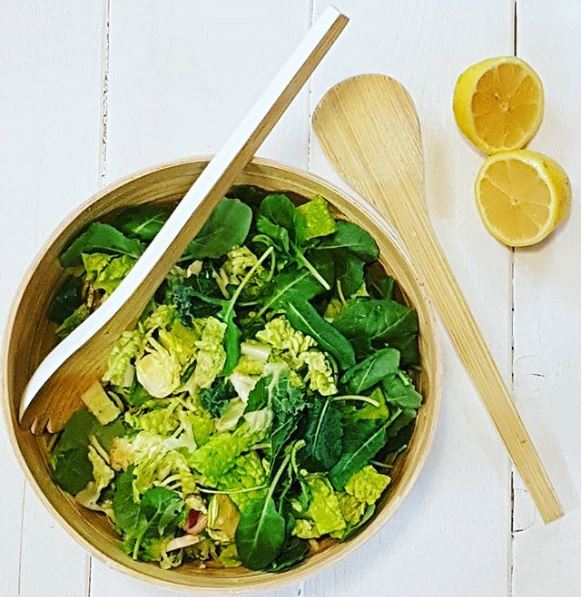 Healthy salad by Nutritionist in K-W