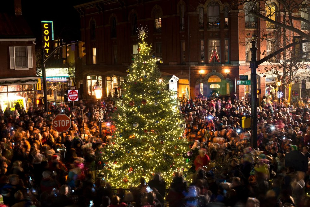 Come out for the 102nd annual Christmas Tree lighting. Music performances  by Bucks County Gilbert & Sullivan Society and Central Bucks West Choir. - 102nd Christmas Tree Lighting €� Discover Doylestown