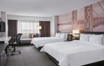 Marriott Glenpointe Newly Renovated Double Room