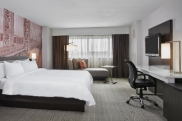 Marriott Glenpointe Newly Renovated King Room