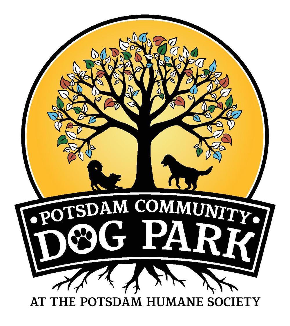 Potsdam Community Dog Park Logo