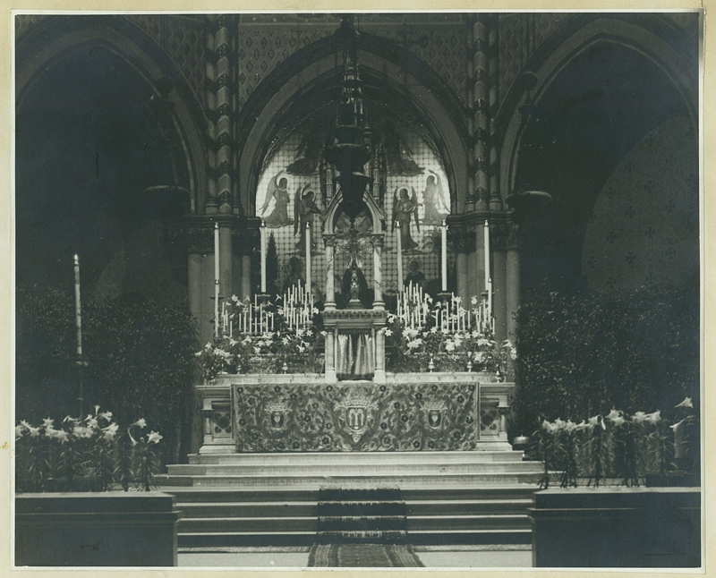 The High Altar at Easter, early 1940s