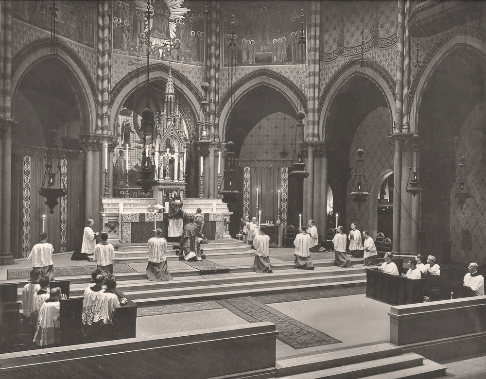 Armistice Day Solemn Mass in 1944