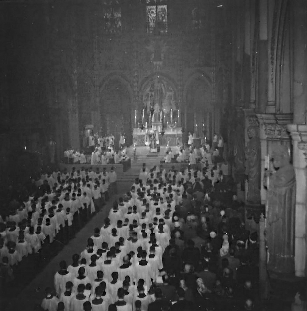 Acolyte Festival at Saint Mary's in 1955